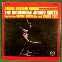 THE INCREDIBLE JIMMY SMITH       1965 Jazz LP  - $5.00