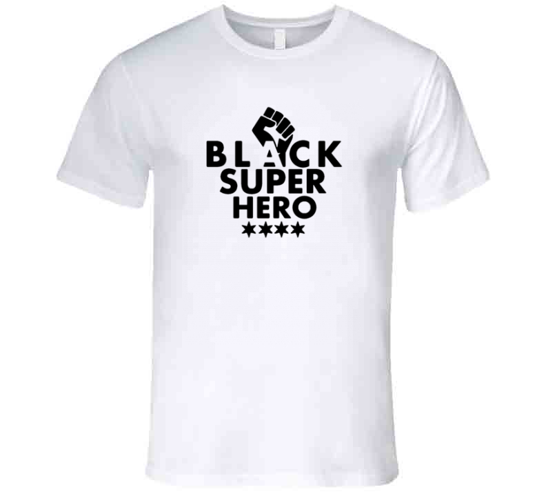 Black Super Hero - Spider T Shirt
