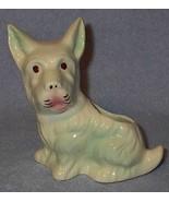 Figural Scotty Dog Art Pottery Planter - $7.95
