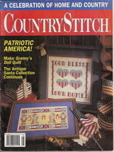 Country Stitch Magazine Vol 4 No 1 July August 1991 - $1.50