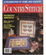 Country Stitch Magazine Vol 4 No 1 July August 1991 - $1.50