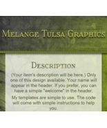 CUSTOMIZED LISTING TEMPLATE- GREENERY - $4.49