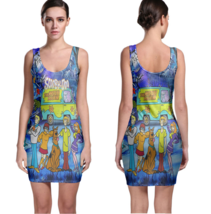 Scooby Doo Sexy Bodycon Sleeveless Dress - $19.99+