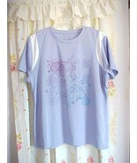 NWT Il Migliore Cornflower Blue Inspiration Yoga Workout Dri Mag Cool XL... - $12.88