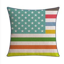 Kylin Express Beautiful American Pastoral Thick Cotton Pillow Case, V - $20.58