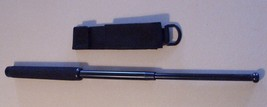 """NEW - Tactical POLICE Expandable 21"""" Steel BATON Weapon & Case  - $26.95"""