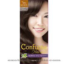 CONFUME HERBAL HAIR COLOR DYE - 7BN COFFEE BROWN - $9.99