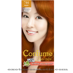 Primary image for CONFUME HERBAL HAIR COLOR DYE - 744 EUCALYPTUS ORANGE
