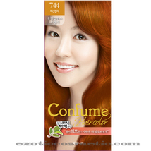 CONFUME HERBAL HAIR COLOR DYE - 744 EUCALYPTUS ORANGE - $9.99