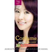 CONFUME HERBAL HAIR COLOR DYE - 756 NIAOULI WINE - $9.99