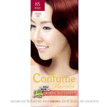 CONFUME HERBAL HAIR COLOR DYE  85 MANDARIN RED - $9.99