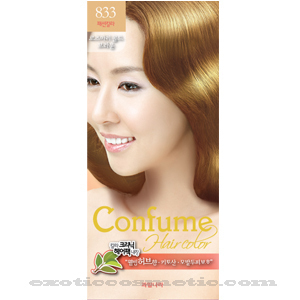 Primary image for CONFUME HERBAL HAIR COLOR DYE - 833 ROSEMARY GOLD BROWN