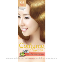 CONFUME HERBAL HAIR COLOR DYE - 833 ROSEMARY GOLD BROWN - $9.99