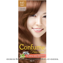 CONFUME HERBAL HAIR COLOR DYE - 845 COLTSFOOT COPPER BROWN - $9.99