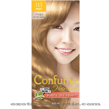 CONFUME HERBAL HAIR COLOR DYE - 113 MARIGOLD LIGHT BRWON - $9.99