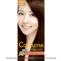 CONFUME HERBAL HAIR COLOR DYE - 844 SOFT CORAL BRWON - $9.99