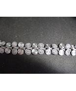 Silvertone Swirl Bracelet-Vintage - $33.00