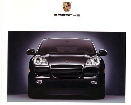 2003 Porsche CAYENNE brochure catalog US 03 VHS Box Set