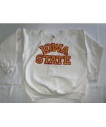 IOWA STATE UNIVERSITY white ISU SWEATSHIRT XL Mint Cyclones ISU - $33.25