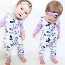 Infant Newborn Baby Boy Girl Kids Cotton Bodysuit Romper Jumpsuit Clothe... - $21.70