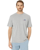 Tommy Bahama Port Captain T-Shirt - Grey Heather Size 3XLT - $34.64