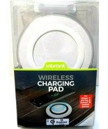 Vibrant brand Wireless Charging Pad for iPhone X,8,8 Plus & Android Qi New! - $0.99