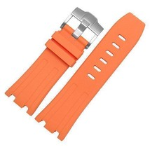 Bracelet FOR Audemars Piguet Royal Oak offshore rubber band 28mm Orange ... - $24.78+