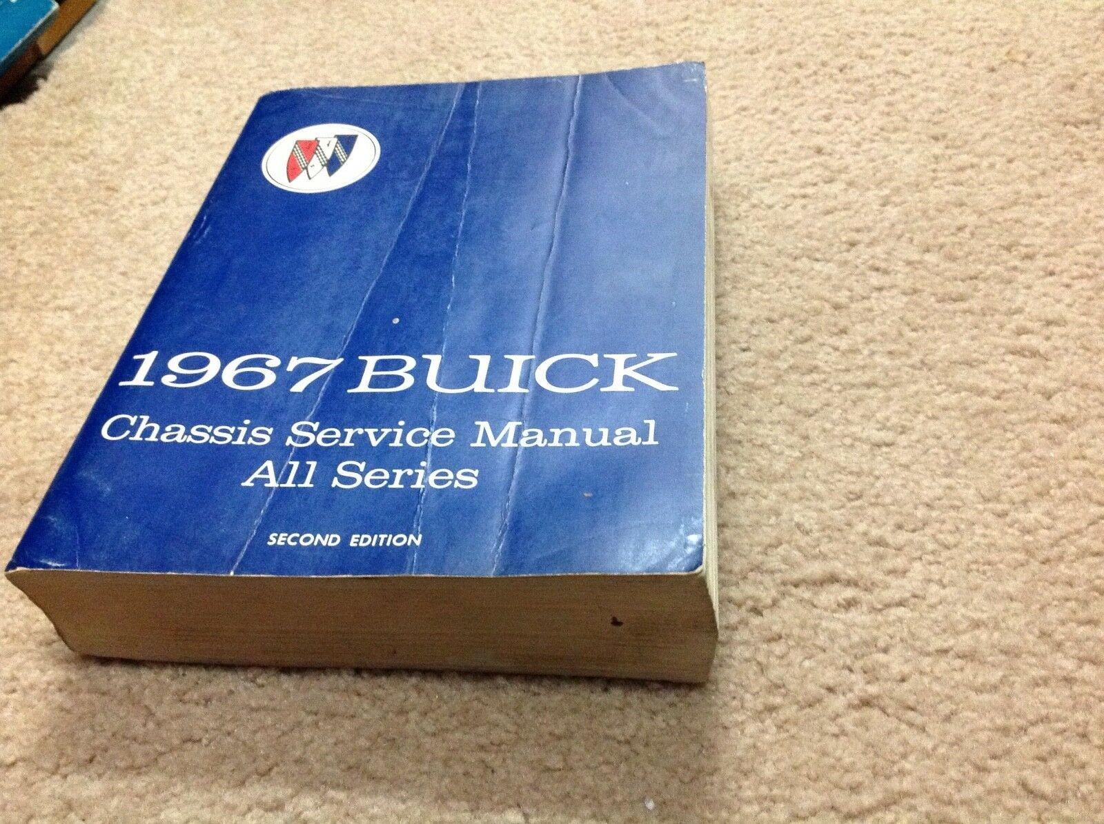 1967 Buick Skylark GS Riviera Lesabre Electra Service Reparatur Shop Manuell OEM