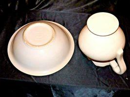 Ceramic McCoy 7516 USA Washbowl and Pitcher AA18-1344 Vintage image 6