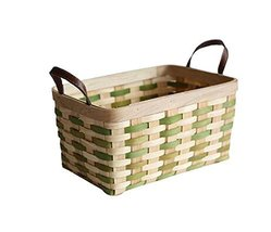 Unique Weave Storage Box Bread/Fruit/Vegetable Box Clothes Storage Organ... - $30.35