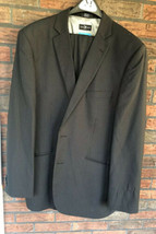 Marc Ecko Men's Dress Suit Blazer Size 37 38 29 Navy Pinstripe Jacket  - $9.80