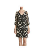 Gabby Skye Women's  Floral Embroidery Detail Sheer Sleeve Dress Size 8 $... - $19.67