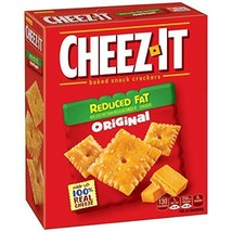 Cheez-It Baked Snack Cheese Crackers, Reduced Fat, Original, 6 oz Box - $10.99
