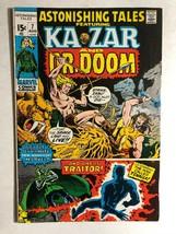 ASTONISHING TALES #7 (1971) Marvel Comic Ka-Zar Dr Doom Black Panther VG+ - $14.84