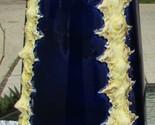 MINT Large SPRINGER & CO Austrian COBALT BLUE Gold Footed Porcelain Vase Austria - $504.45