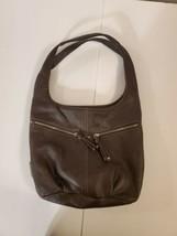 Tignanello Brown Leather Shoulder Bag - $30.00