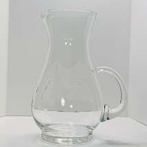 "Princess House Crystal Heritage Pattern 10 1/4"" Water Margarita Pitcher - $19.64"