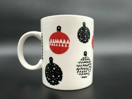 Starbucks Coffee Christmas Red and Black Ornaments 12 oz 2016 - $13.85