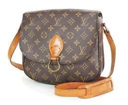 Authentic LOUIS VUITTON Saint Cloud GM Monogram Shoulder Bag #34958 - $459.00