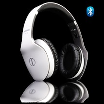 New Bluetooth Hi-Fi headphones Tablet/Cell Phones/PC White Color - 2 YEA... - $92.04