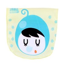2 Lovely Blueberry Baby Cotton Gauze Towel Wipe Sweat Absorbent Cloth Mat Towels image 1