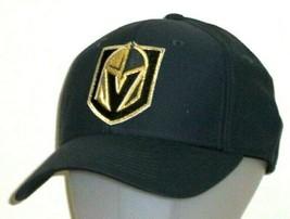 An item in the Sports Mem, Cards & Fan Shop category: Las Vegas Golden Knights adidas NHL Structured Flex Fit Gray Hat / Cap Size L/XL