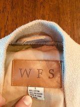 WFS KHAKI Beige fishing vest Size L 60% Cotton 40% Poly #186 image 5