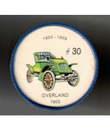 1903 OVERLAND Jell-O Picture Wheel #30 - $5.00
