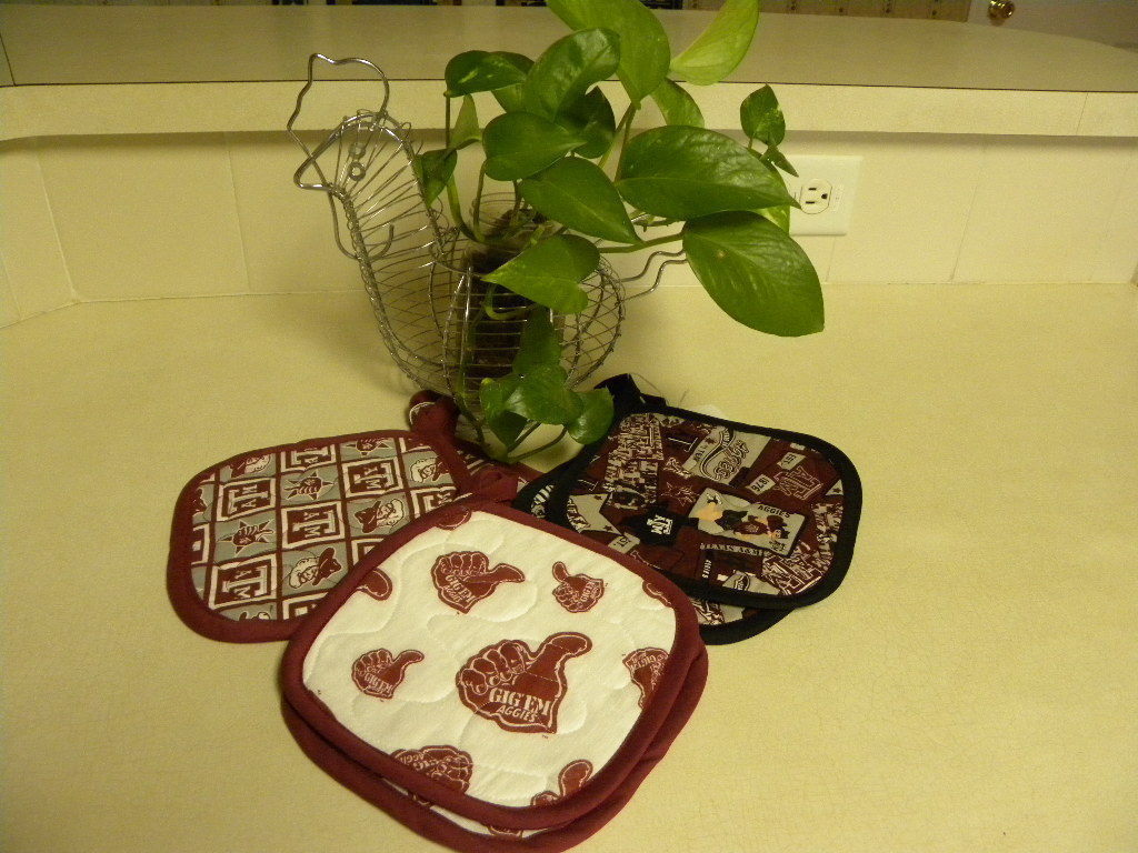 Primary image for Pot Holder sets-Texas A & M