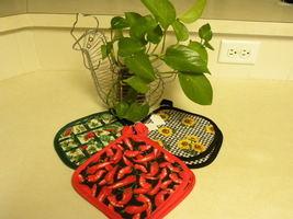Handmade Pot Holder Sets - $6.50