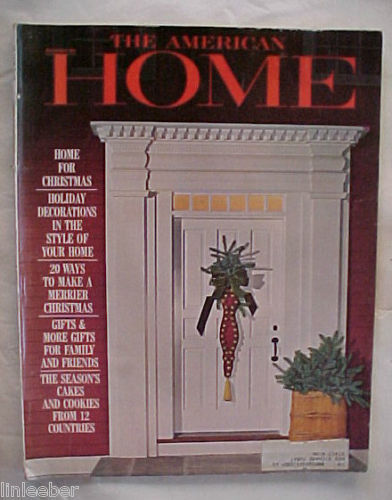 THE AMERICAN HOME 1964-DECEMBER-HOLIDAY DECORATIONS IN THE STYLE OF YOUR HOME