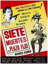 Decorative Poster.Interior wall art design.Cuban movie 7 muertes a plazo... - $9.90+