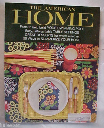 THE AMERICAN HOME 1965-MAY--REMODELING OLD BARN INTO HOME;POOLS;CABINETS/ CHESTS