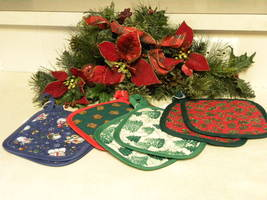 Handmade pot holder sets - $6.50